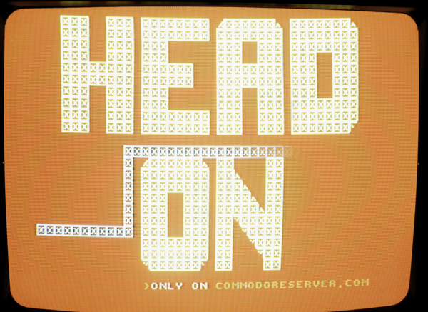 Head On Game for the Commodore 64