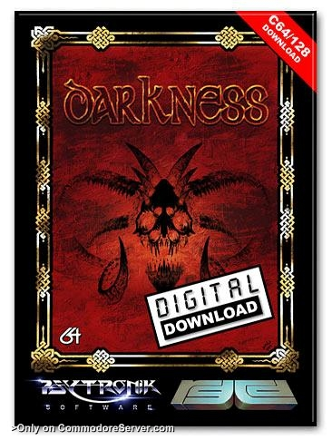 FANTASTIC NEW GAMES ON COMMODORE SERVER : DARKNESS