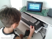 My children want play batman with Commodore 64