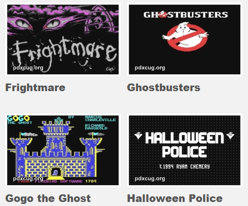 Commodore 64 Halloween Games
